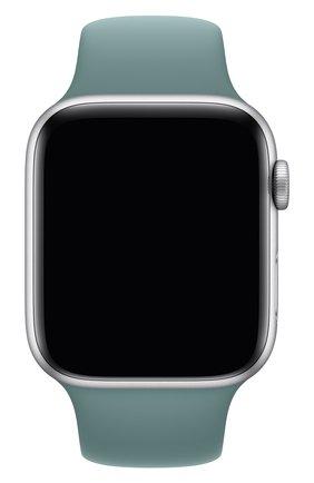 Мужской ремешок для apple watch 44mm sport band (regular) APPLE бирюзового цвета, арт. MXNX2ZM/A | Фото 1