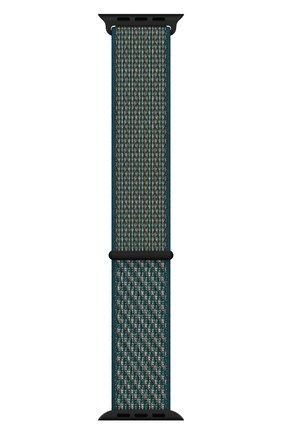 Мужской ремешок для apple watch 44mm nike sport loop APPLE зеленого цвета, арт. MXN62ZM/A | Фото 1