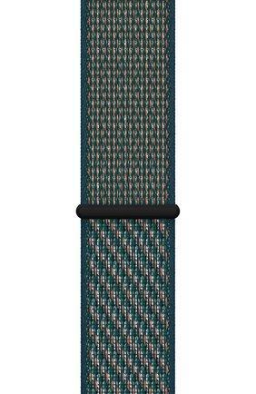 Мужской ремешок для apple watch 44mm nike sport loop APPLE зеленого цвета, арт. MXN62ZM/A | Фото 2