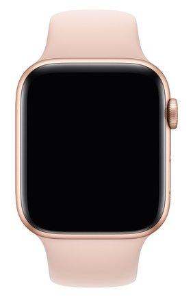 Мужской ремешок для apple watch 44mm sport band (regular) APPLE розового цвета, арт. MTPM2ZM/A | Фото 1