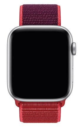 Мужской ремешок для apple watch 44mm sport loop APPLE красного цвета, арт. MXHW2ZM/A | Фото 1