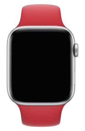 Мужской ремешок для apple watch 44mm sport band (regular) APPLE красного цвета, арт. MU9N2ZM/A | Фото 1