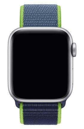 Мужской ремешок для apple watch 40mm sport loop APPLE синего цвета, арт. MXMP2ZM/A | Фото 1