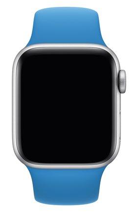 Мужской ремешок для apple watch 40mm sport band (regular) APPLE синего цвета, арт. MXNV2ZM/A | Фото 1
