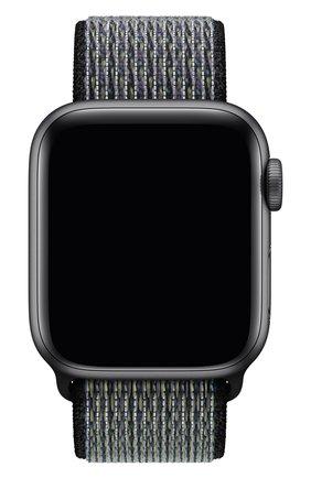 Мужской ремешок для apple watch 40mm nike sport loop APPLE черного цвета, арт. MXN12ZM/A | Фото 1