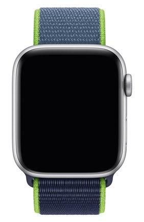 Мужской ремешок для apple watch 44mm sport loop APPLE синего цвета, арт. MXMV2ZM/A | Фото 1