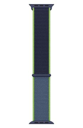 Мужской ремешок для apple watch 44mm sport loop APPLE синего цвета, арт. MXMV2ZM/A | Фото 2