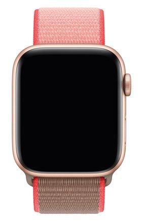 Мужской ремешок для apple watch 44mm sport loop APPLE розового цвета, арт. MXMU2ZM/A | Фото 1