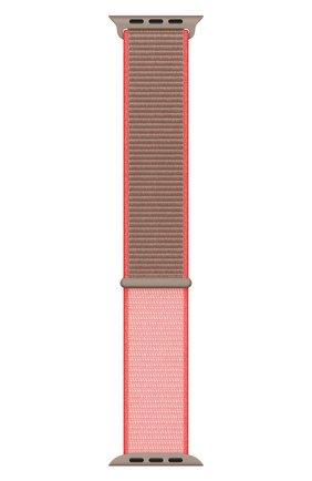Мужской ремешок для apple watch 44mm sport loop APPLE розового цвета, арт. MXMU2ZM/A | Фото 2
