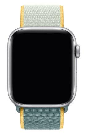 Мужской ремешок для apple watch 44mm sport loop APPLE голубого цвета, арт. MXMX2ZM/A | Фото 1