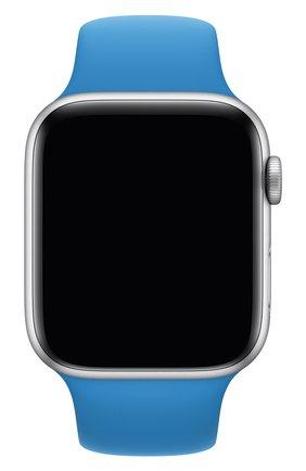 Мужской ремешок для apple watch 44mm sport band (regular) APPLE синего цвета, арт. MXP02ZM/A | Фото 1