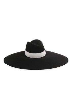 Женская шляпа BALMAIN черно-белого цвета, арт. TF1A029/A020 | Фото 1