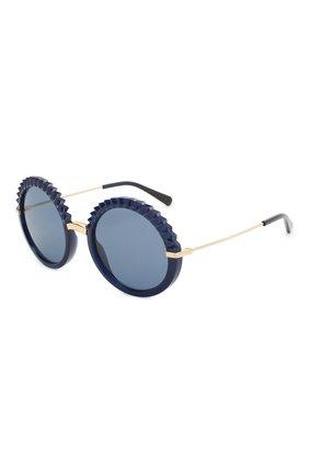 Мужские солнцезащитные очки DOLCE & GABBANA синего цвета, арт. 6130-309480 | Фото 1