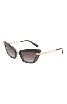 Мужские солнцезащитные очки DOLCE & GABBANA черного цвета, арт. 4378-32468G | Фото 1