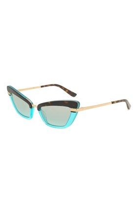 Мужские солнцезащитные очки DOLCE & GABBANA разноцветного цвета, арт. 4378-32497C | Фото 1