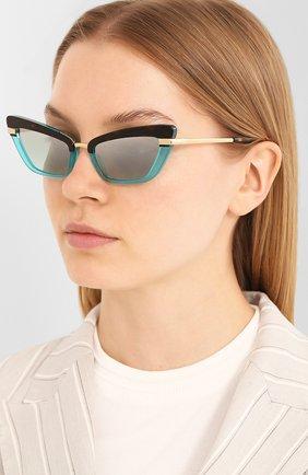 Мужские солнцезащитные очки DOLCE & GABBANA разноцветного цвета, арт. 4378-32497C | Фото 2
