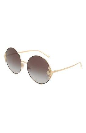 Мужские солнцезащитные очки DOLCE & GABBANA черного цвета, арт. 2252H-13348G | Фото 1