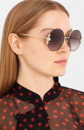 Мужские солнцезащитные очки DOLCE & GABBANA черного цвета, арт. 2252H-13348G | Фото 2