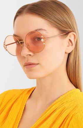 Мужские солнцезащитные очки DOLCE & GABBANA розового цвета, арт. 2252H-134278 | Фото 2
