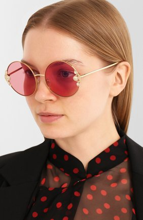 Мужские солнцезащитные очки DOLCE & GABBANA розового цвета, арт. 2252H-13390E | Фото 2