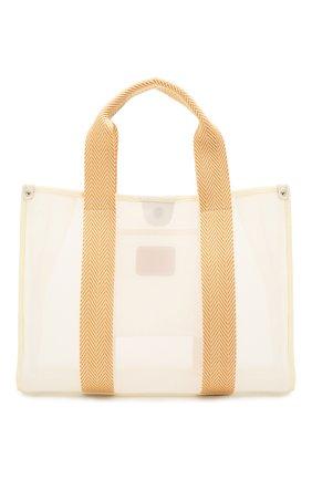 Женская сумка-шопер BONFANTI оранжевого цвета, арт. 315101/BEIGE WITH 0RANGE | Фото 1