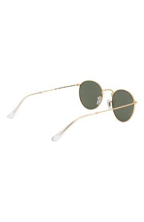Женские солнцезащитные очки RAY-BAN золотого цвета, арт. 3447-919631 | Фото 5