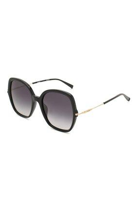 Женские солнцезащитные очки MAX MARA черного цвета, арт. CLASSYVIII/G 807 | Фото 1