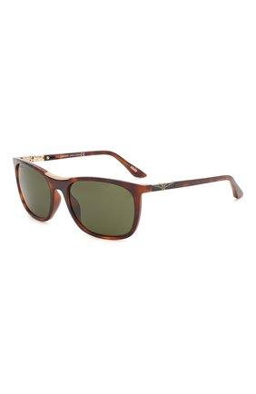 Мужские солнцезащитные очки LONGINES коричневого цвета, арт. LG0002-H 52N | Фото 1