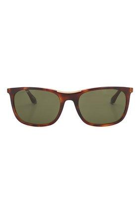 Мужские солнцезащитные очки LONGINES коричневого цвета, арт. LG0002-H 52N | Фото 3