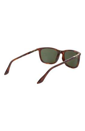 Мужские солнцезащитные очки LONGINES коричневого цвета, арт. LG0002-H 52N | Фото 4
