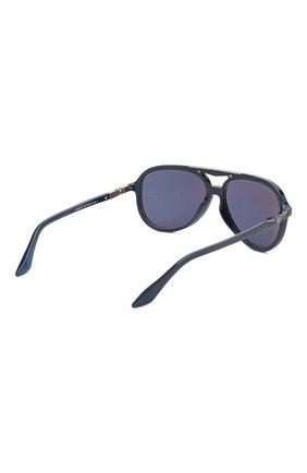 Мужские солнцезащитные очки LONGINES синего цвета, арт. LG0003-H 05V | Фото 4