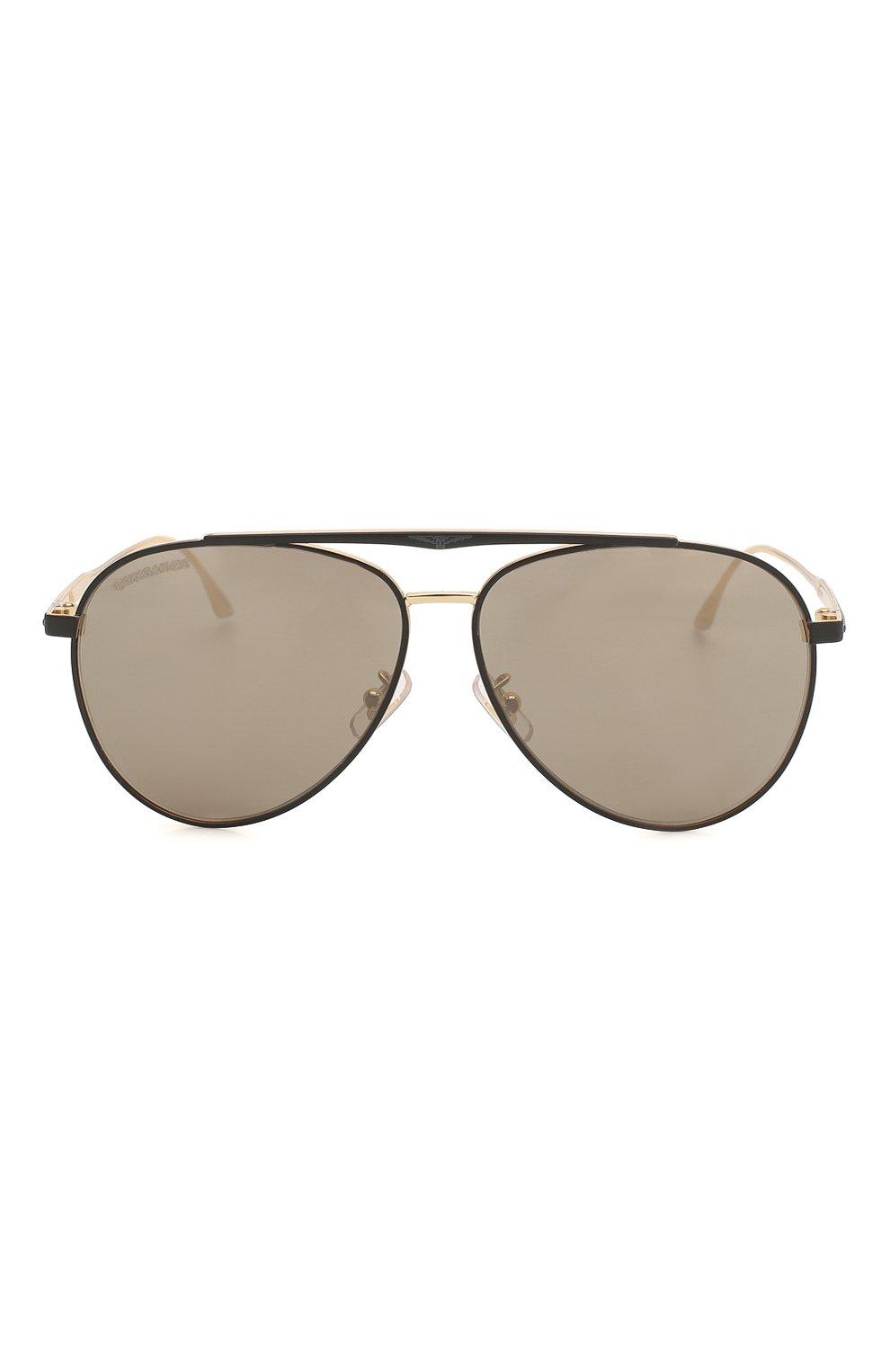 Мужские солнцезащитные очки LONGINES черного цвета, арт. LG0005-H 02L | Фото 3 (Тип очков: С/з; Очки форма: Авиаторы; Оптика Гендер: оптика-мужское)
