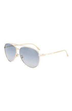 Мужские солнцезащитные очки LONGINES белого цвета, арт. LG0005-H 30X | Фото 1