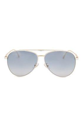 Мужские солнцезащитные очки LONGINES белого цвета, арт. LG0005-H 30X | Фото 2