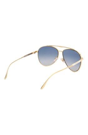 Мужские солнцезащитные очки LONGINES белого цвета, арт. LG0005-H 30X   Фото 3