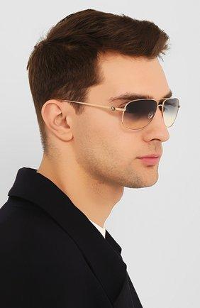 Мужские солнцезащитные очки BENTLEY золотого цвета, арт. B-1919/11 | Фото 2