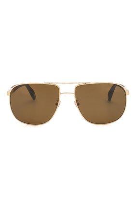 Мужские солнцезащитные очки CHOPARD коричневого цвета, арт. C92S 300P | Фото 3