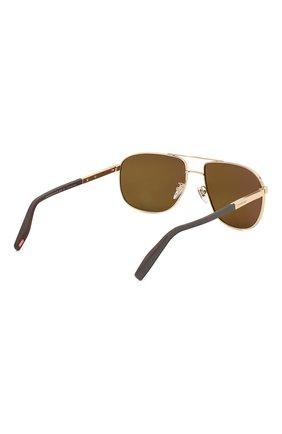 Мужские солнцезащитные очки CHOPARD коричневого цвета, арт. C92S 300P | Фото 4