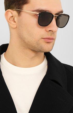 Мужские солнцезащитные очки CHOPARD черного цвета, арт. D60 700P | Фото 2