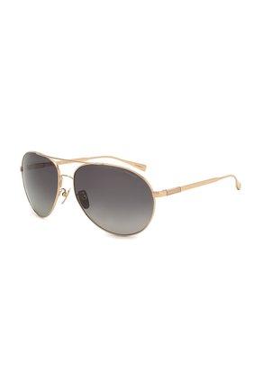 Мужские солнцезащитные очки CHOPARD золотого цвета, арт. D57 300P | Фото 1