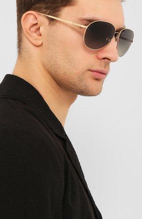 Мужские солнцезащитные очки CHOPARD золотого цвета, арт. D57 300P | Фото 2