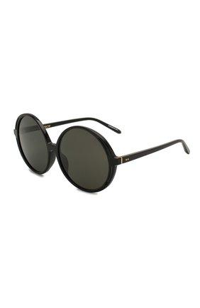 Мужские солнцезащитные очки LINDA FARROW черного цвета, арт. LFL989C1 SUN | Фото 1