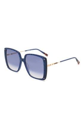 Женские солнцезащитные очки MISSONI синего цвета, арт. MIS0002 S6F | Фото 1