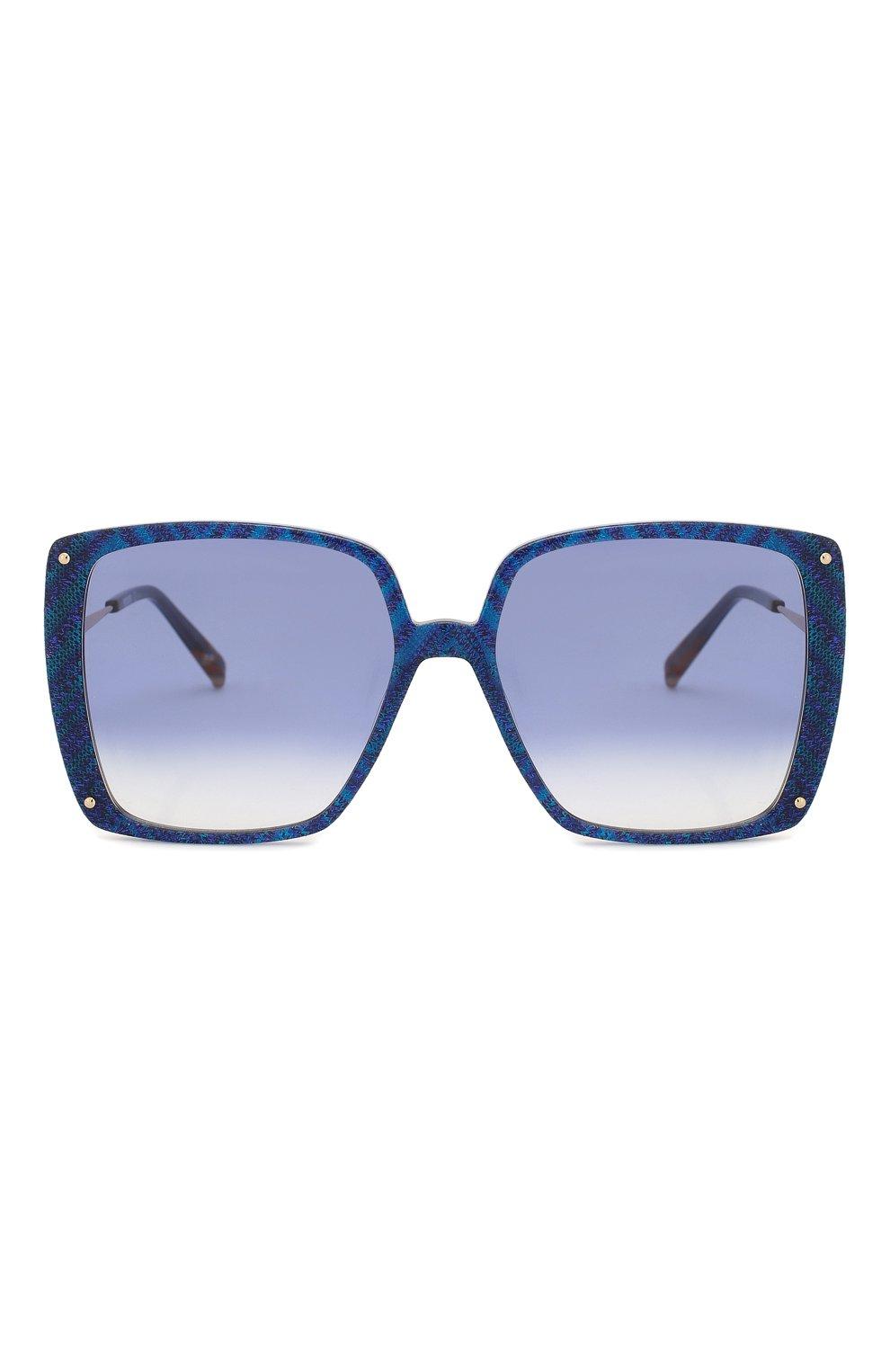 Женские солнцезащитные очки MISSONI синего цвета, арт. MIS0002 S6F | Фото 3