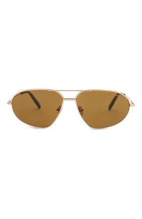 Женские солнцезащитные очки TOM FORD золотого цвета, арт. TF771 28E | Фото 3