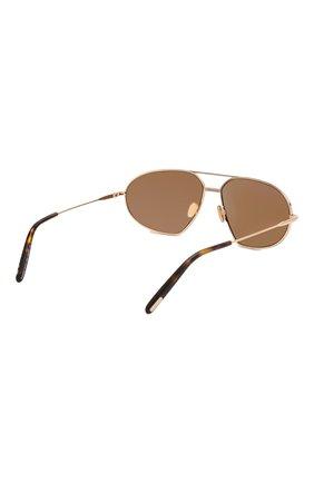 Женские солнцезащитные очки TOM FORD золотого цвета, арт. TF771 28E | Фото 4