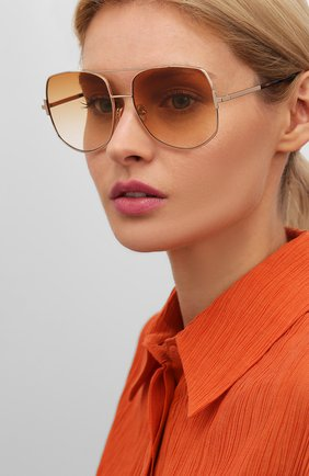 Мужские солнцезащитные очки TOM FORD золотого цвета, арт. TF783 28F | Фото 2