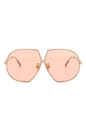 Женские солнцезащитные очки TOM FORD розового цвета, арт. TF785 33E   Фото 3