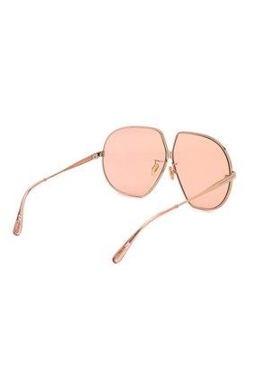 Женские солнцезащитные очки TOM FORD розового цвета, арт. TF785 33E   Фото 4