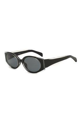 Женские солнцезащитные очки MATTHEW WILLIAMSON черного цвета, арт. MW249C1 SUN | Фото 1